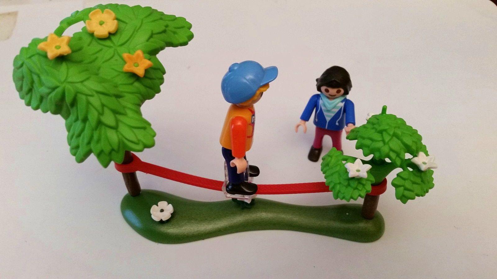 Playmobil slackline