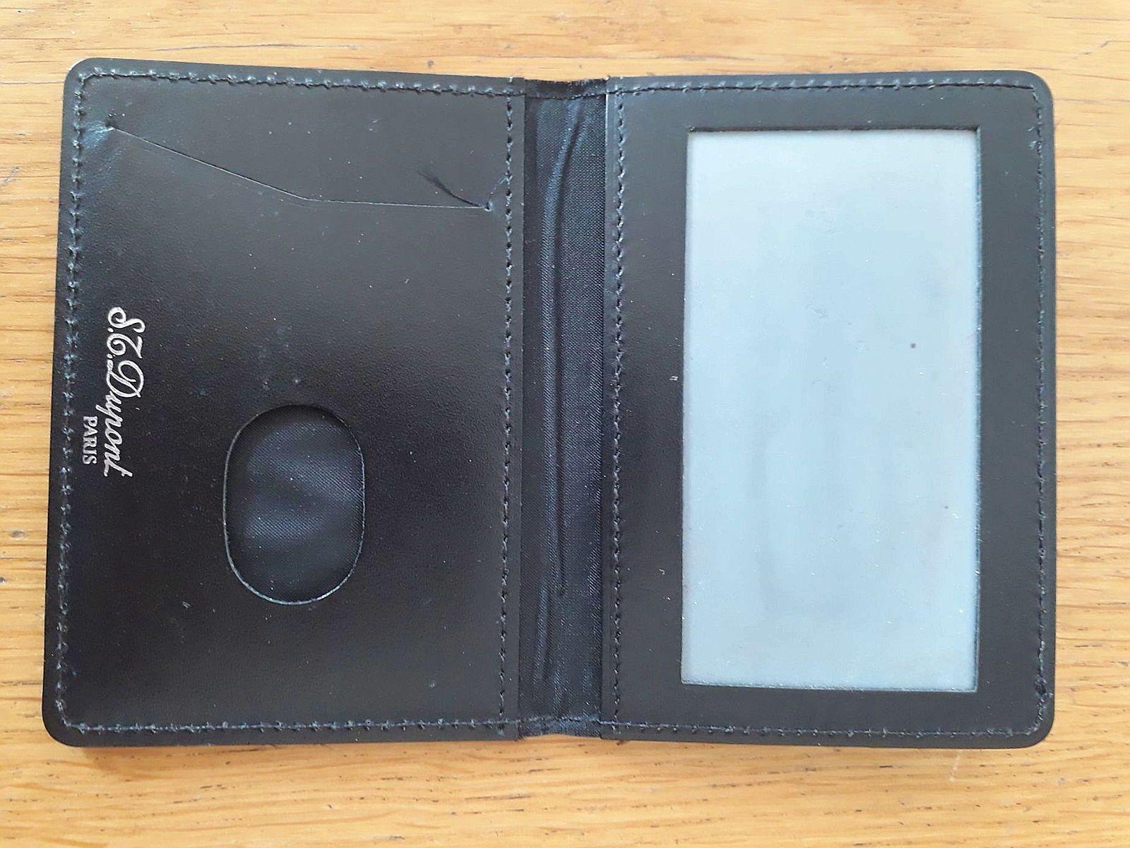 Porte Carte Dupont - intérieur portefeuille