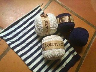 Je propose des lots de pelotes à tricoter