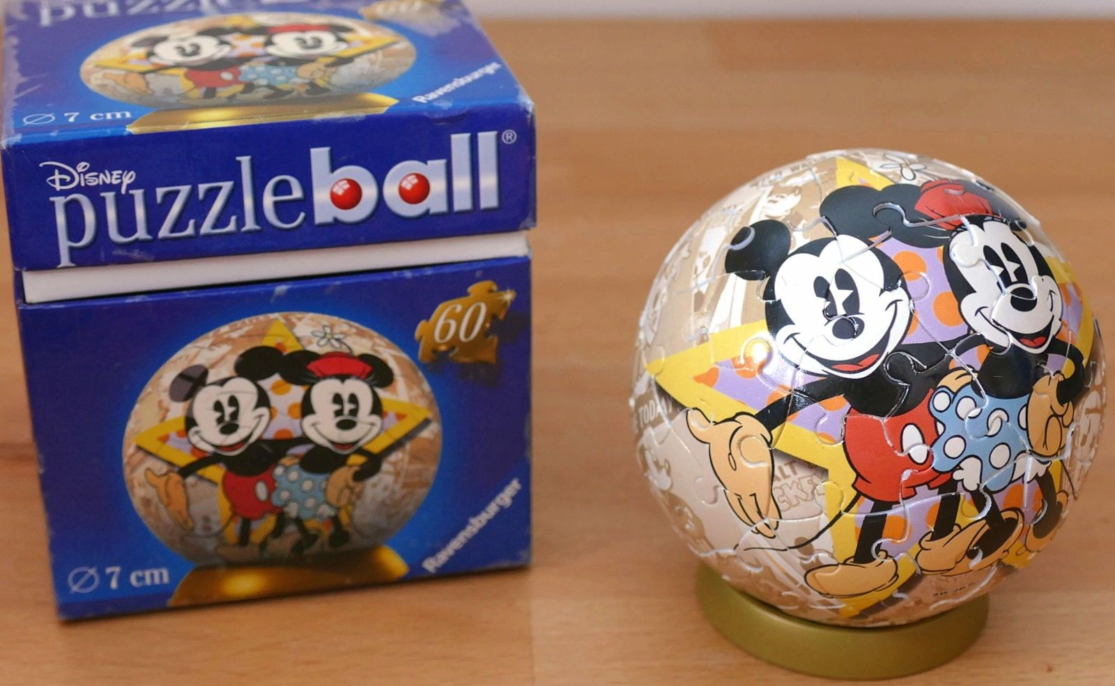 Puzzle Ball Disney Ravensburger - Mickey et Minnie Mouse