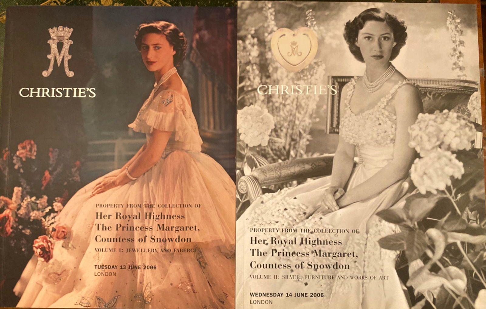 Royauté HRH Princesse Margaret Snowdon sœur de la Reine Elizabeth II