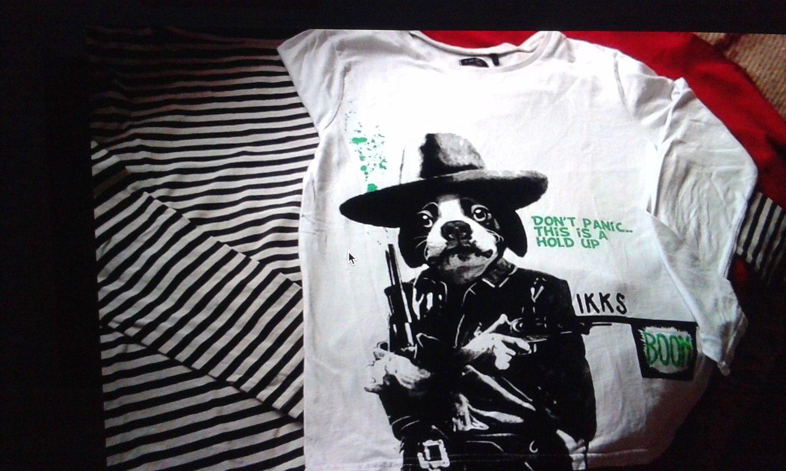 Vends t-shirts garçon IKKS, CFK 12ans