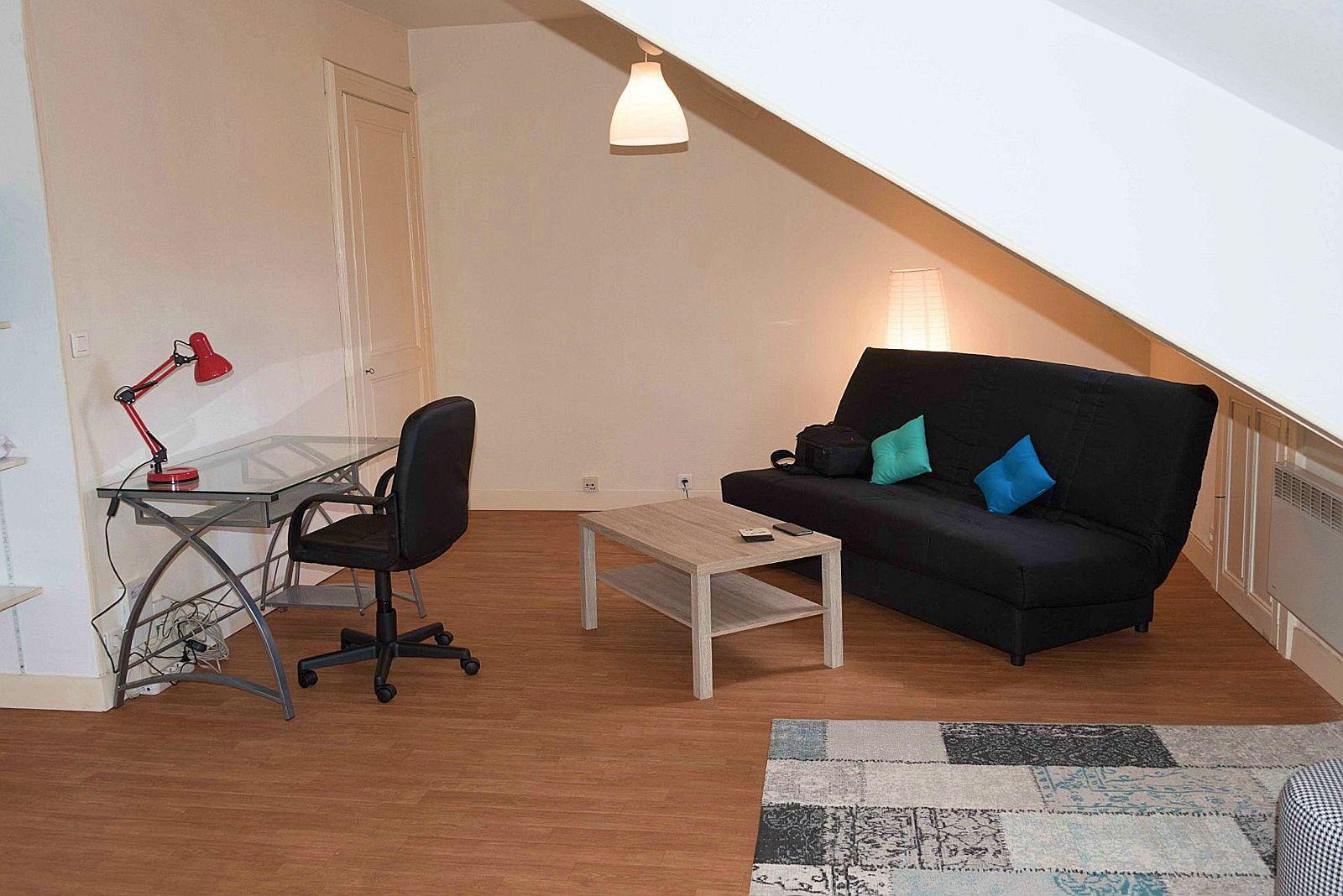 Loue studio meublé 30m² à Pau hyper centre