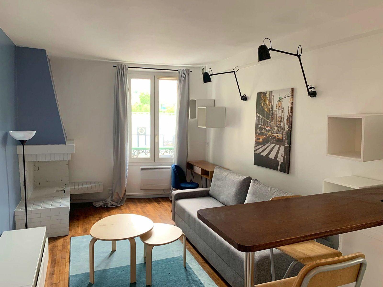Loue Studio Meublé Design Rueil Centre, RER A à 5min - 24m²