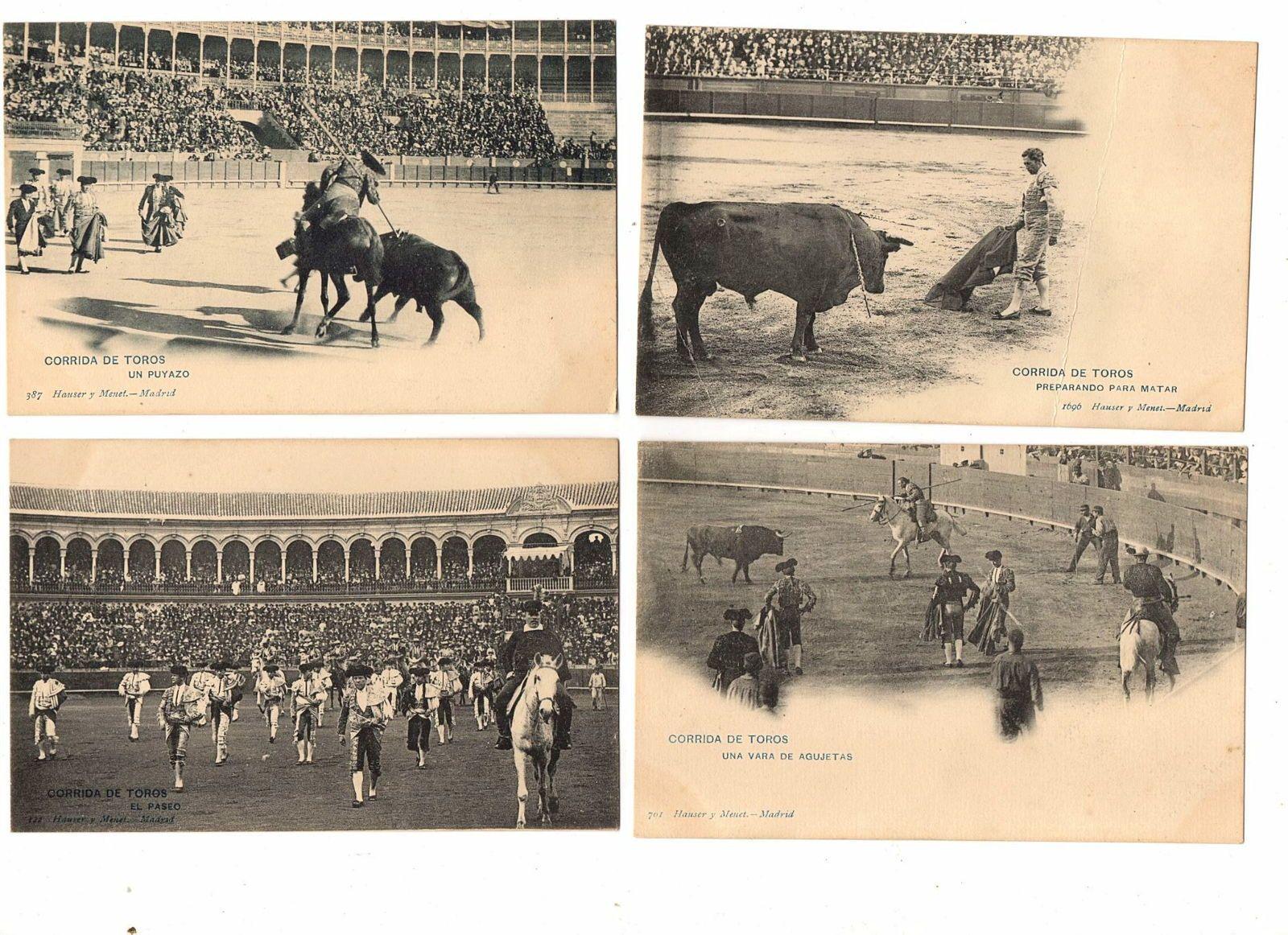Cartes postales tauromachie
