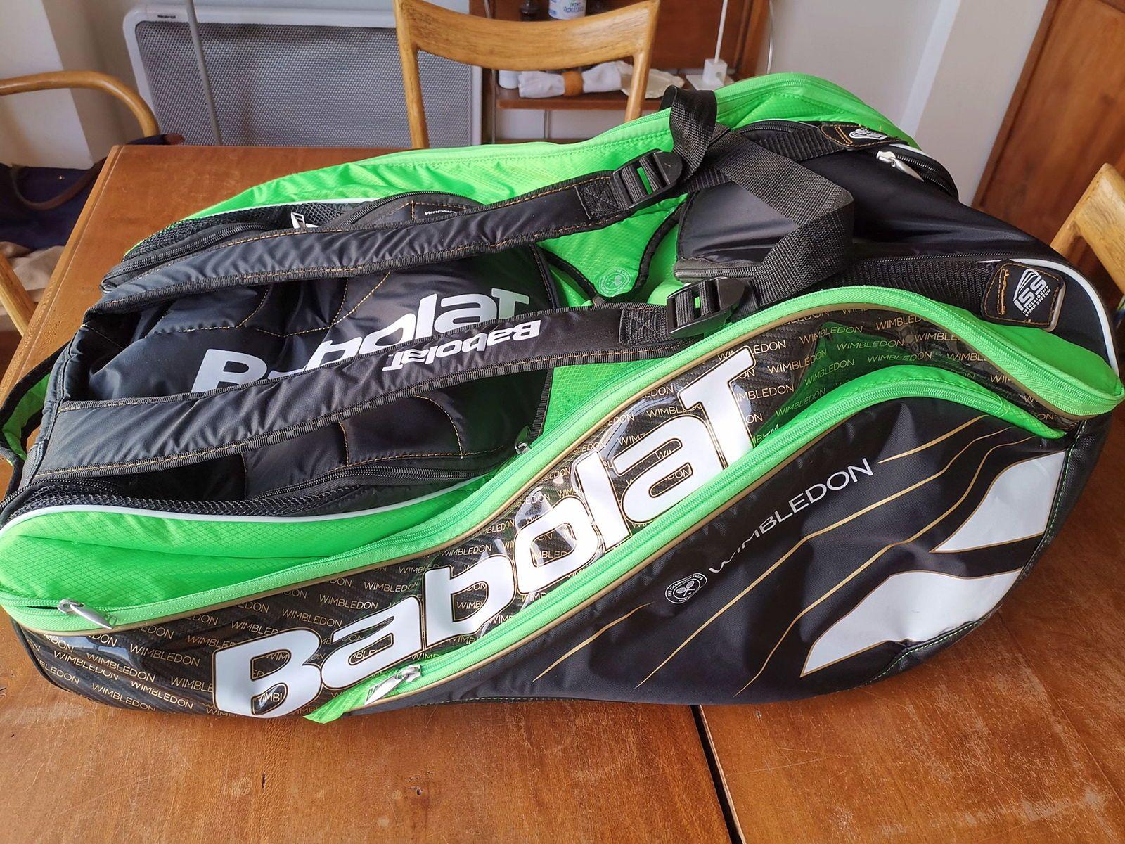 Vends sac de tennis Babolat Edition Wimbledon