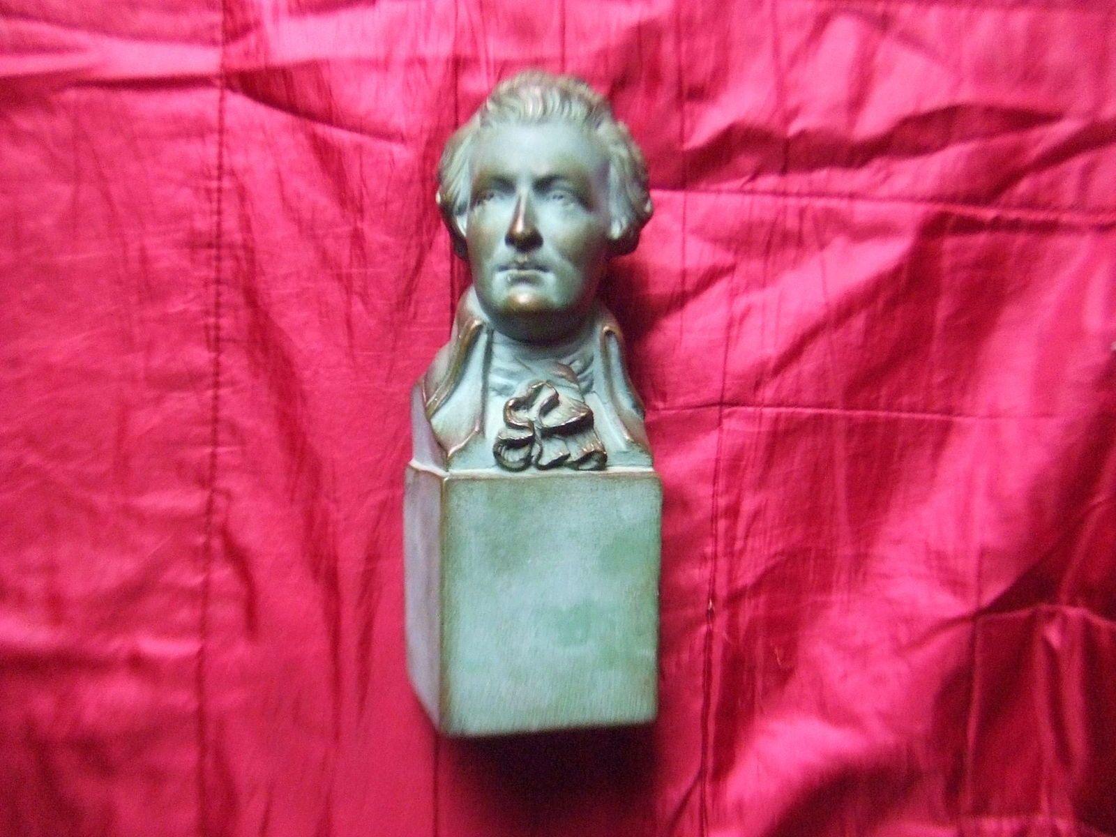 Vends buste de MOZART - ancien - terre cuite