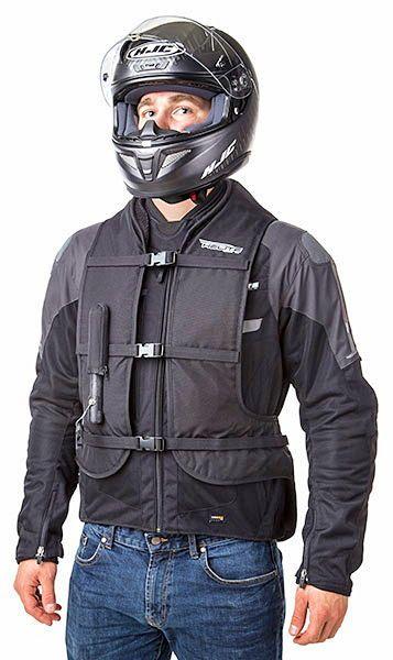 Vends gilet Airbag Helite pour moto, scooter, équitation