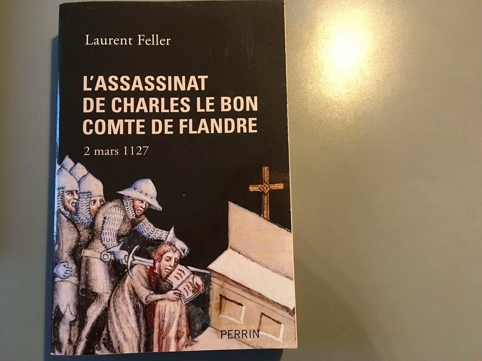 Vends livre sur l'assassinat de Charles le Bon