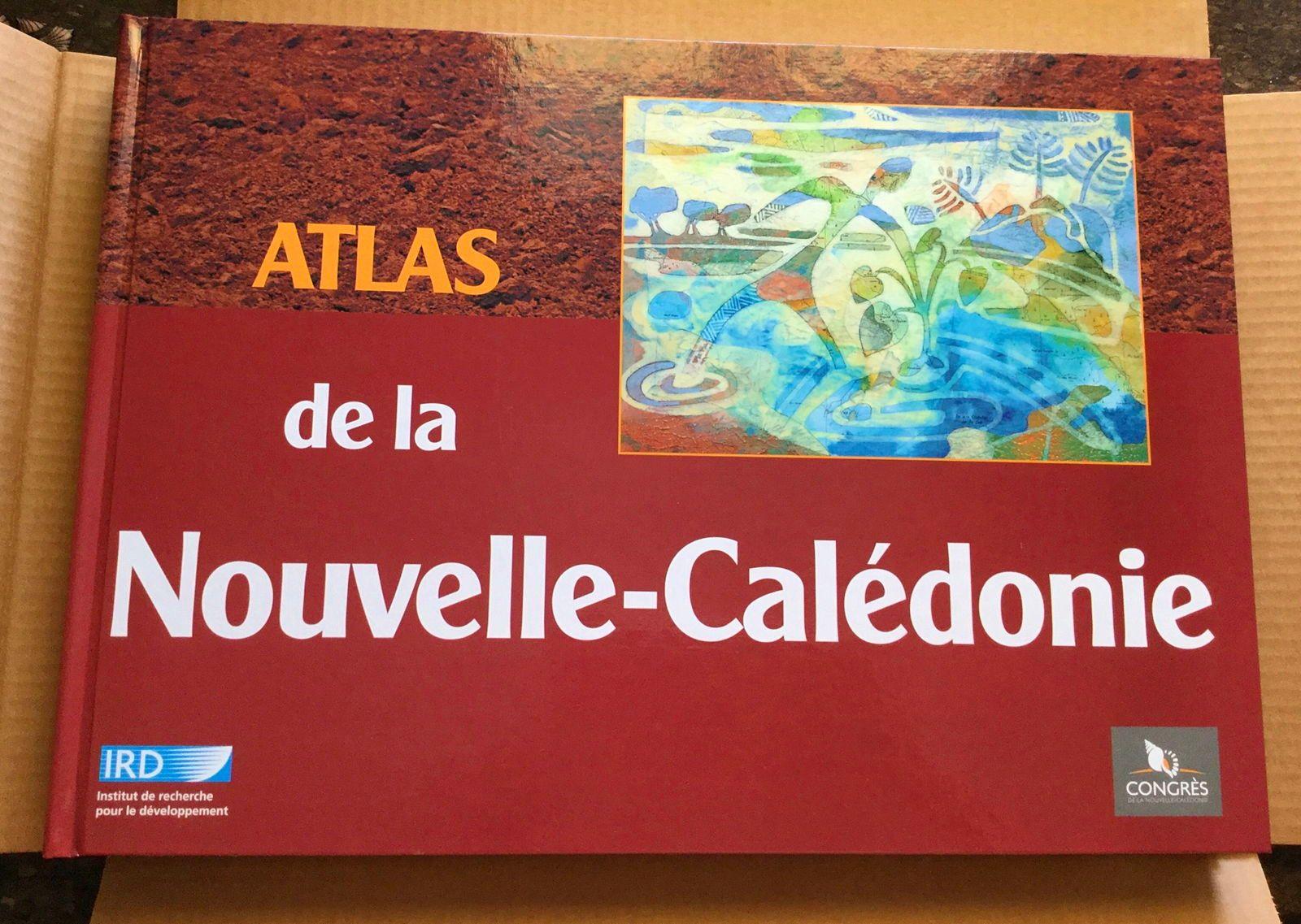 """Vends livre """" Atlas de la nouvelle Caledonie"""""""