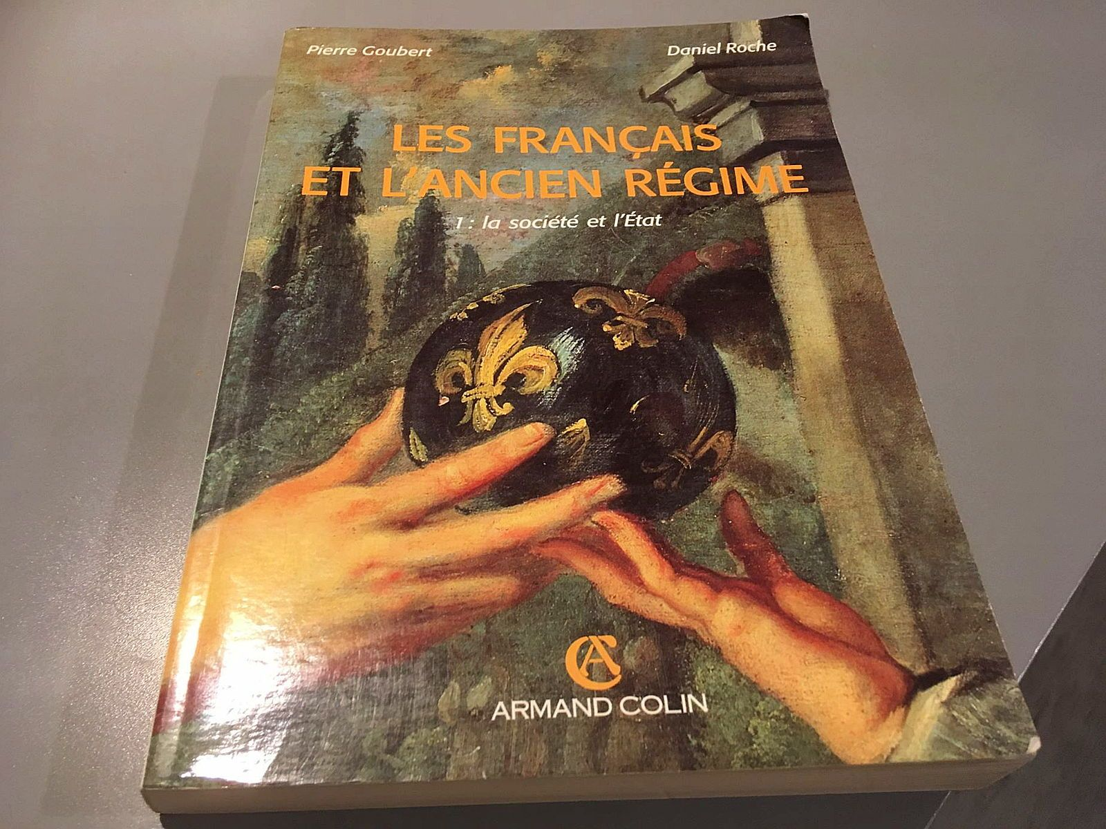 Vends livre sur les français et l'Ancien Régime