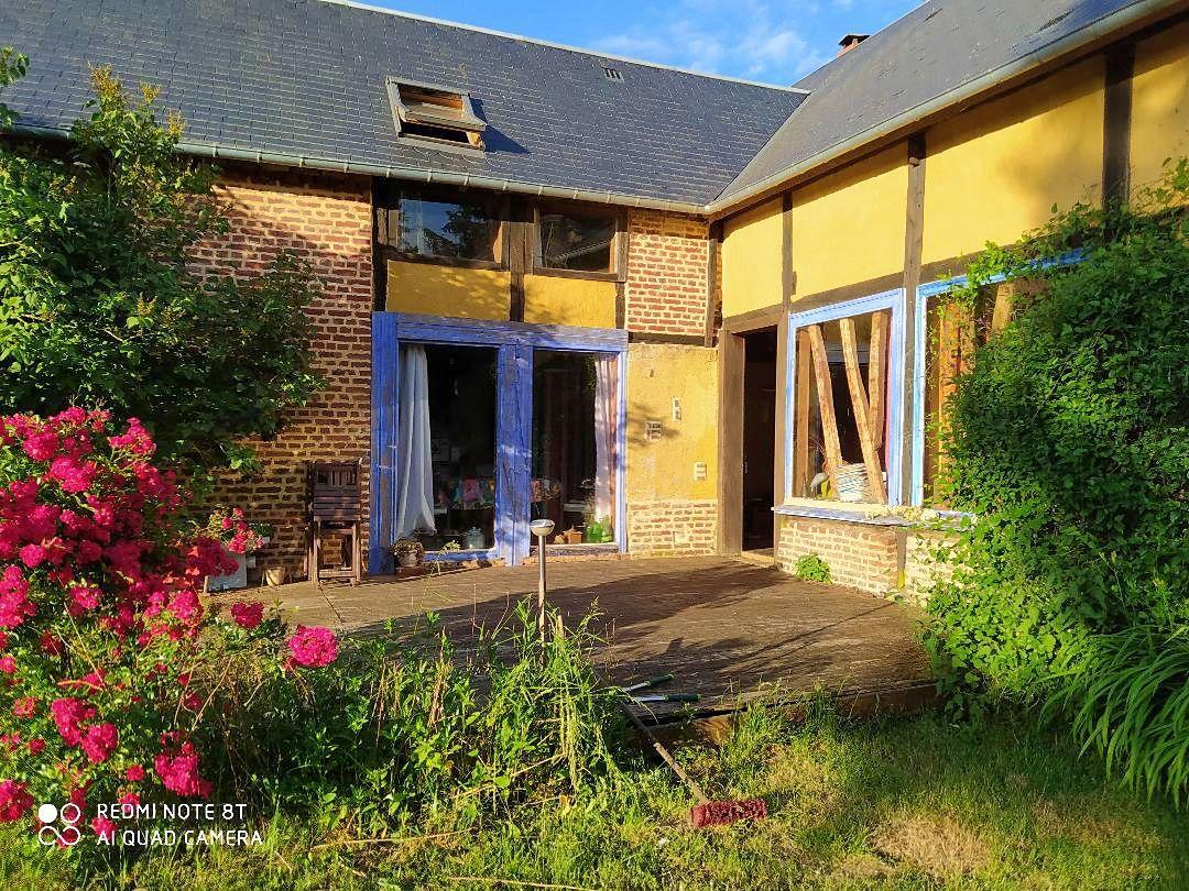 Vends maison de campagne rustique à 1h25de Paris - 4chambres, 240m², Thérines (60)