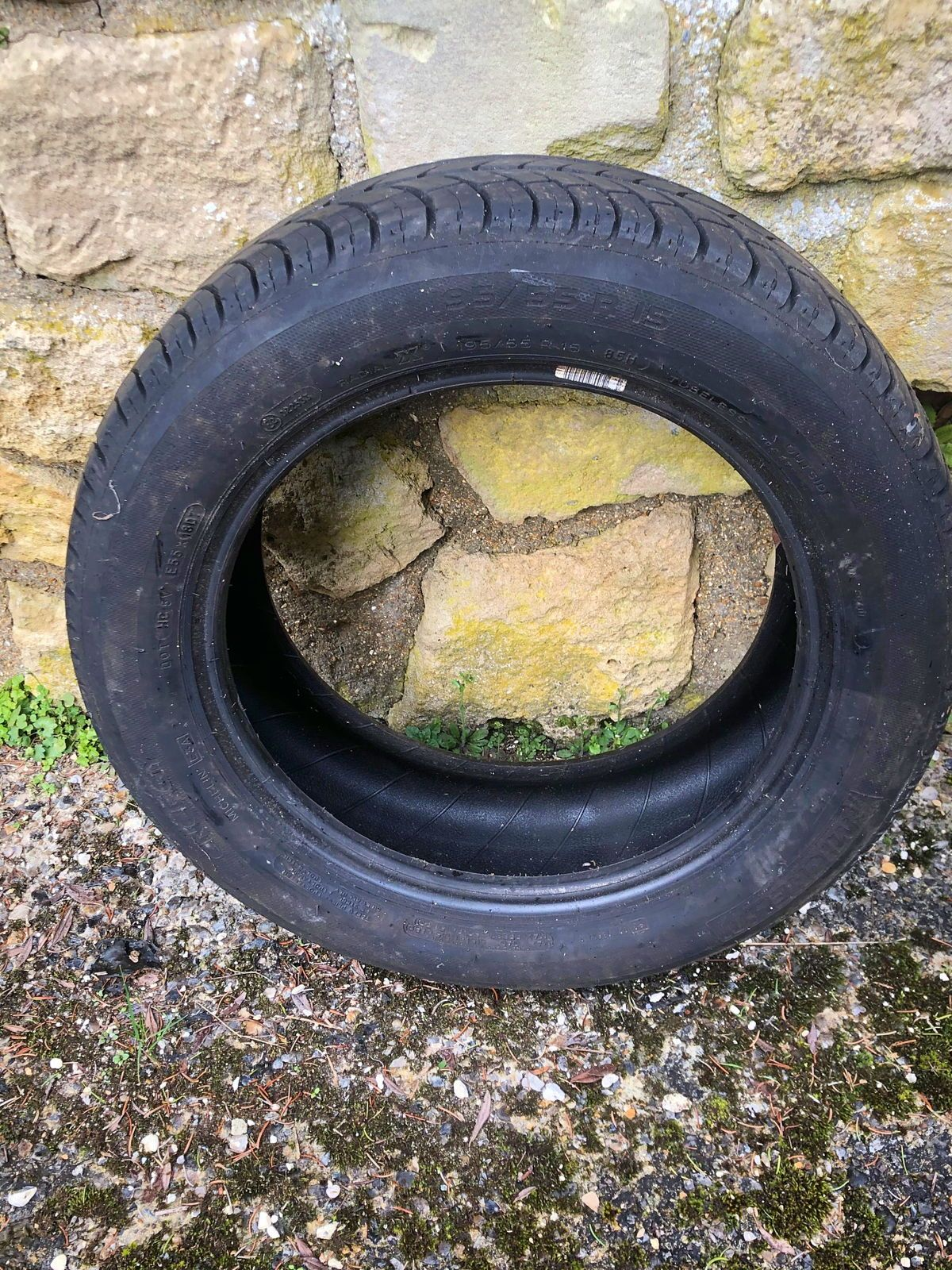 Vends pneus Michelin Energy 195/55R 15