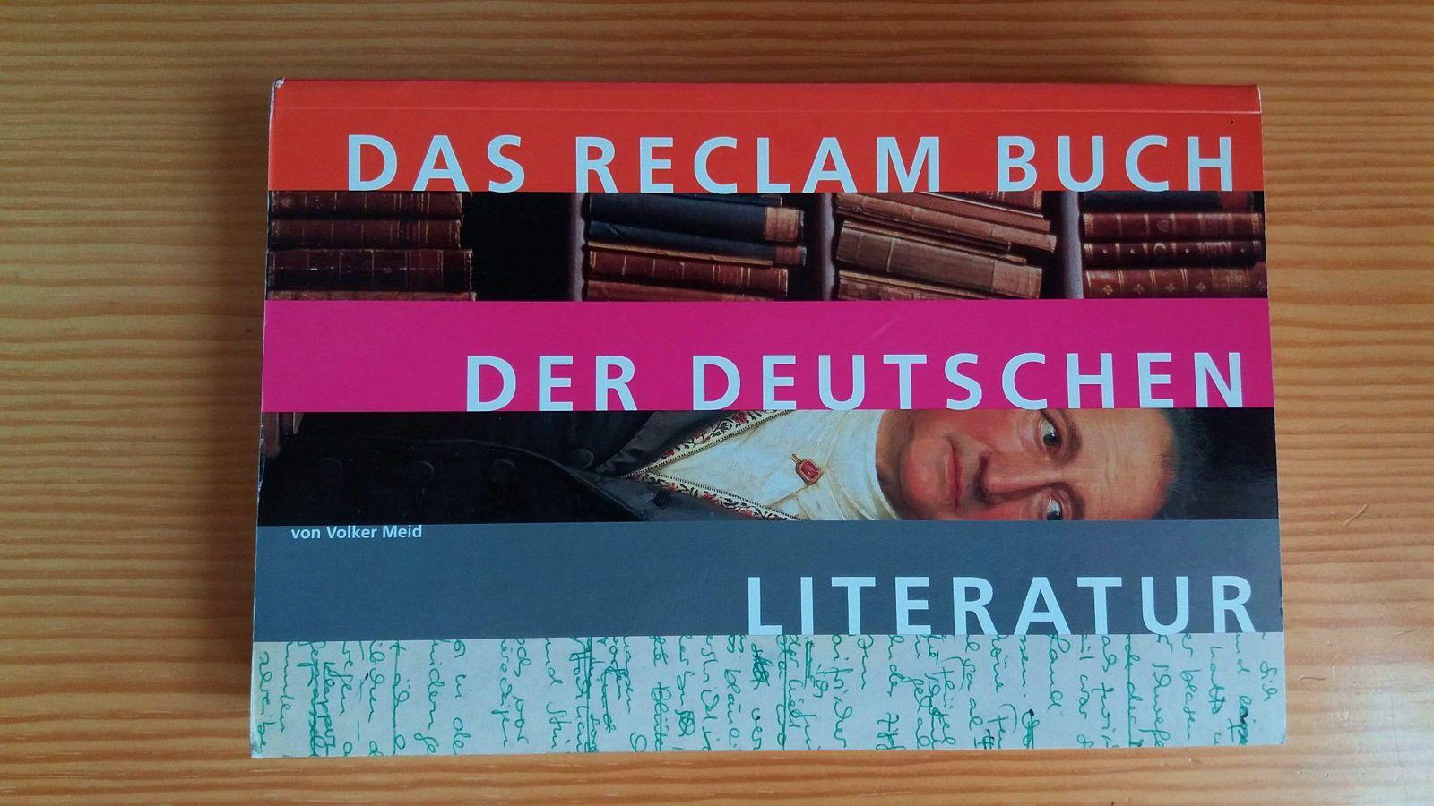 Vends précis de littérature allemande, état quasi neuf