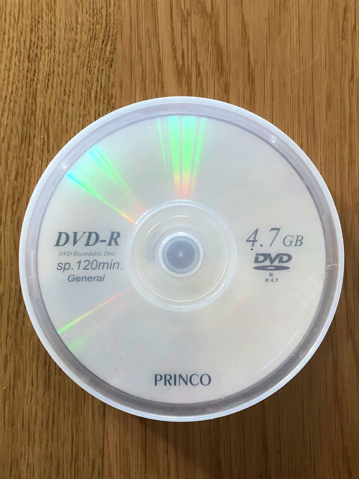 Vends DVD vierges réinscriptibles 4,7 GB