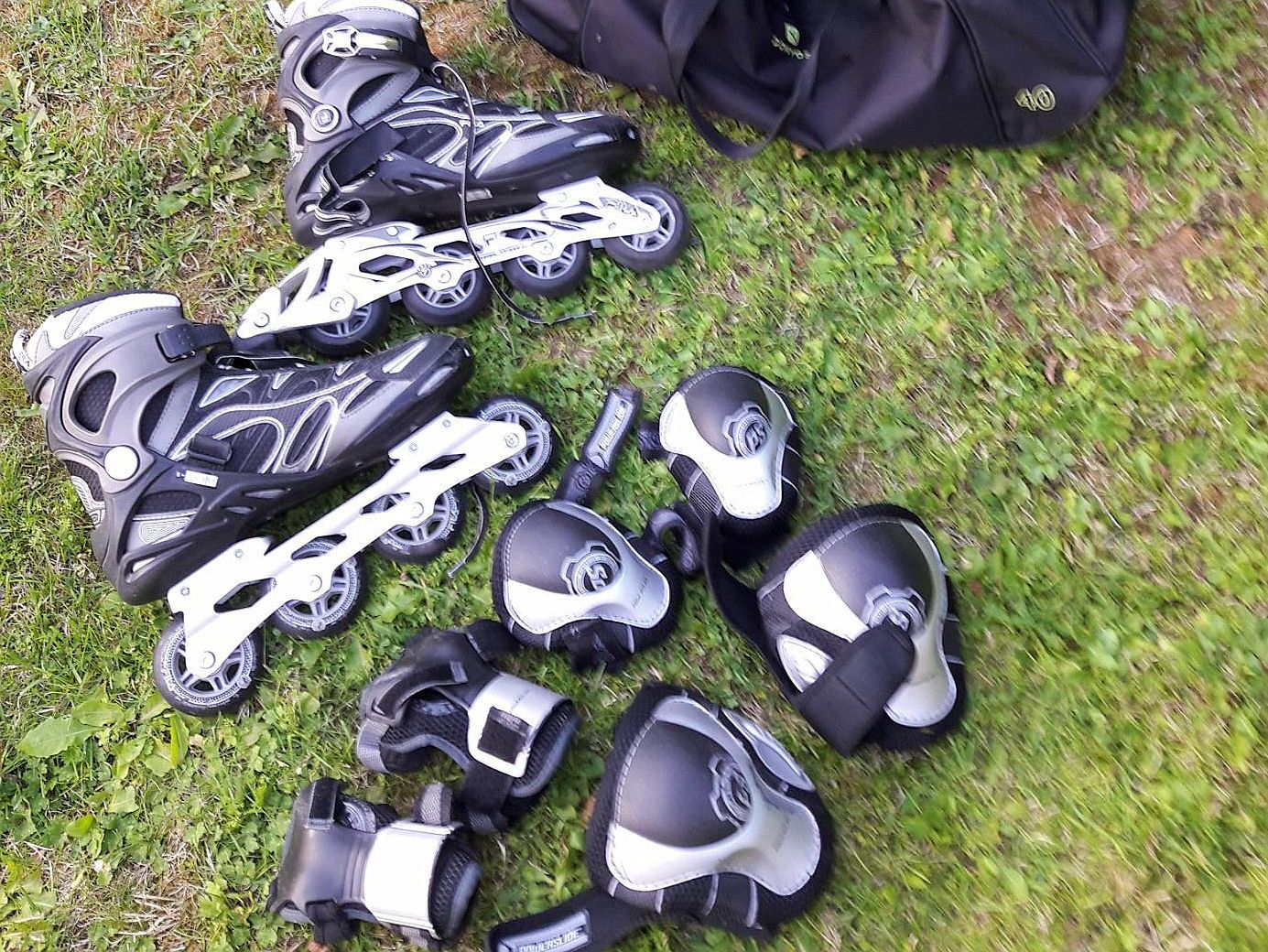 Vends Rollers Pointure 43et accessoires