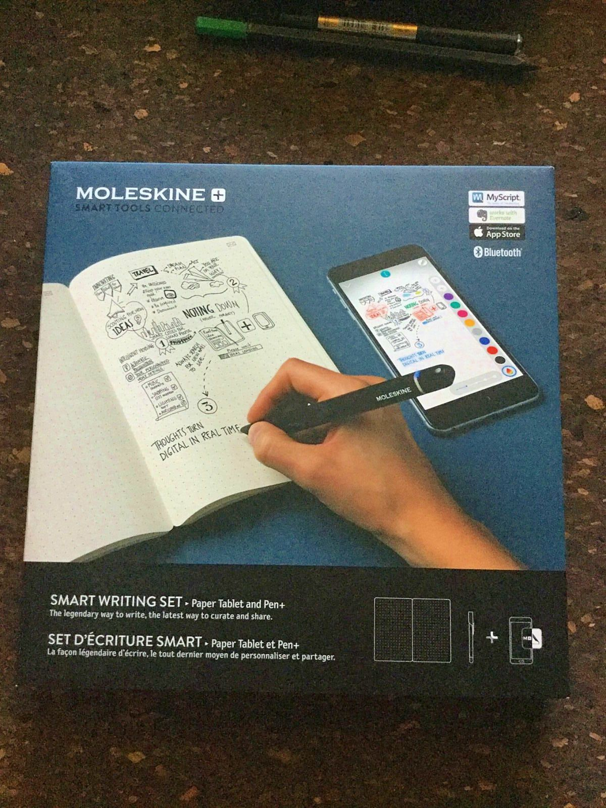 "Vends ""smart writting set"" de Moleskine"