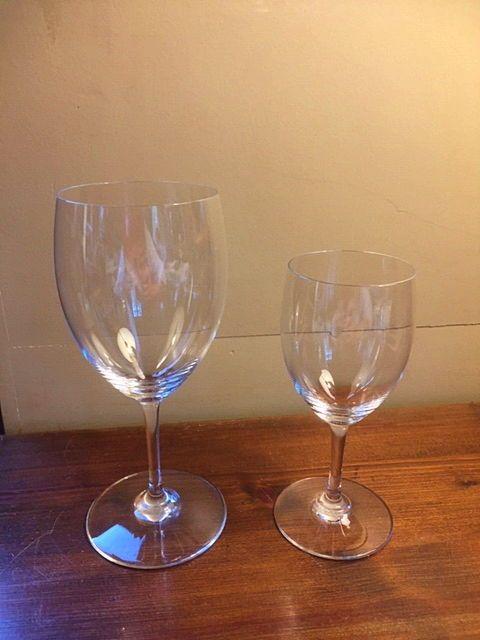 Vends verres en cristal de Baccarat