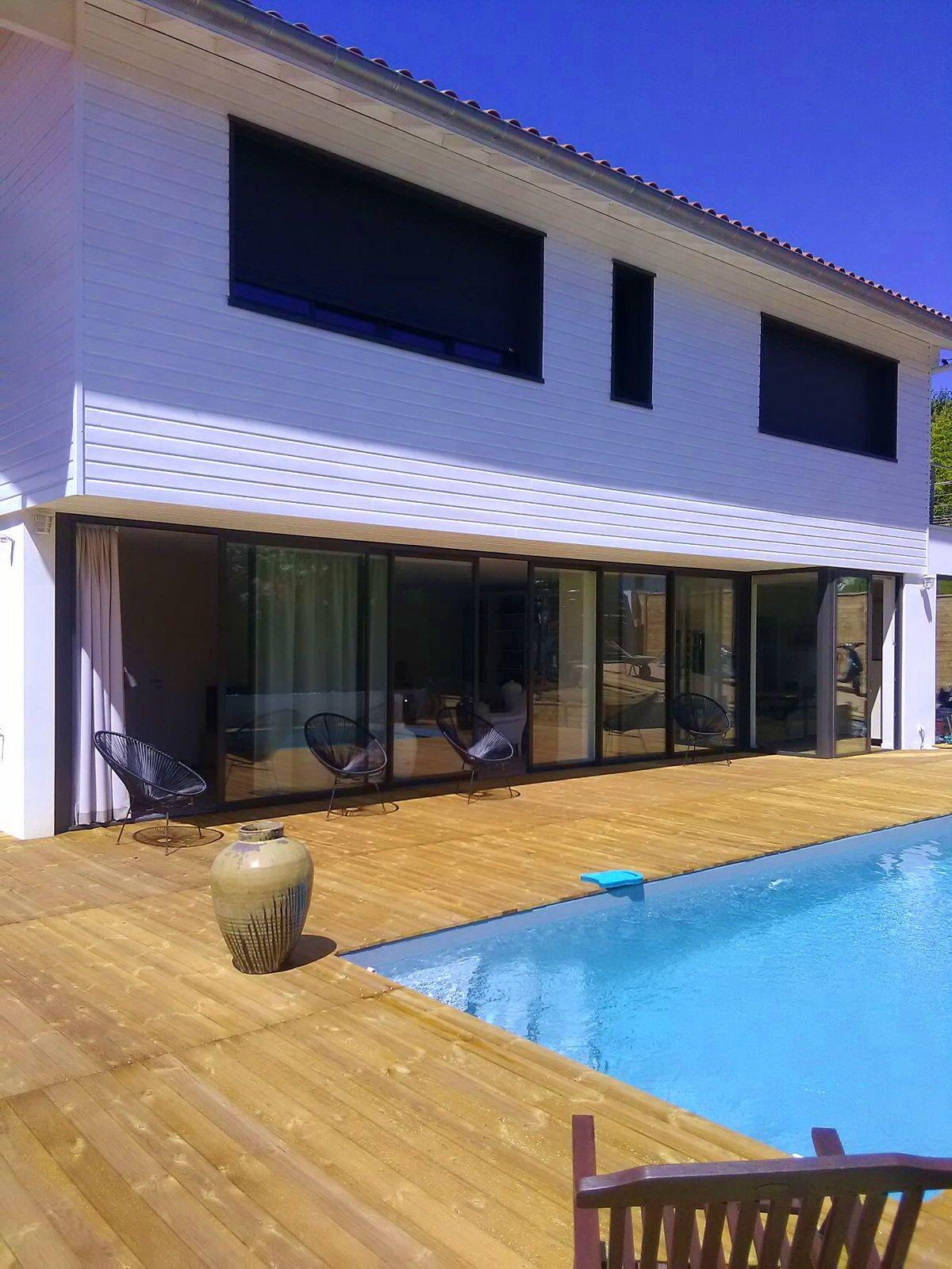 Loue Villa bord mer piscine 8/10couchagesà Biarritz
