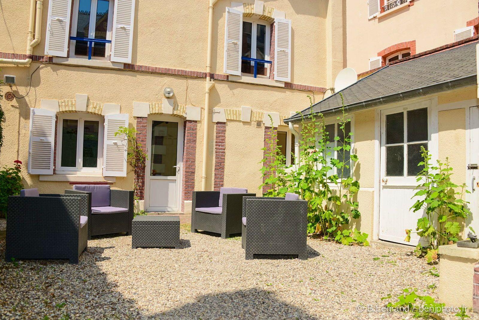 Loue villa accolée au Grand Hôtel de Cabourg, 6couchages
