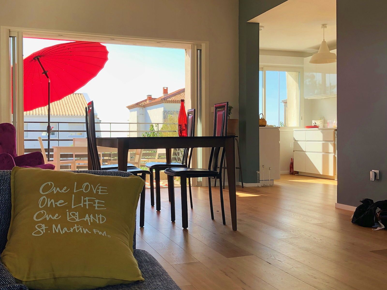 Loue villa bord de mer, Carnon plage - 2chambres 4couchages