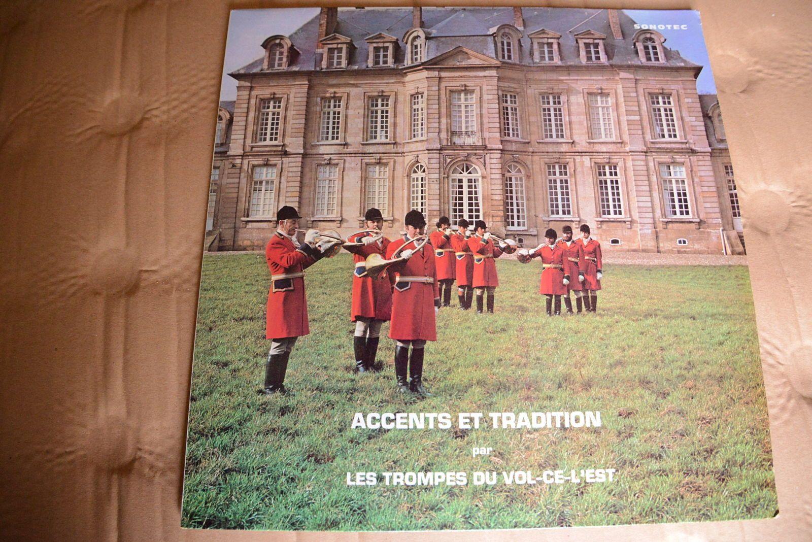 """Vends vinyle vintage """"Trompe de chasse"""", état neuf"""