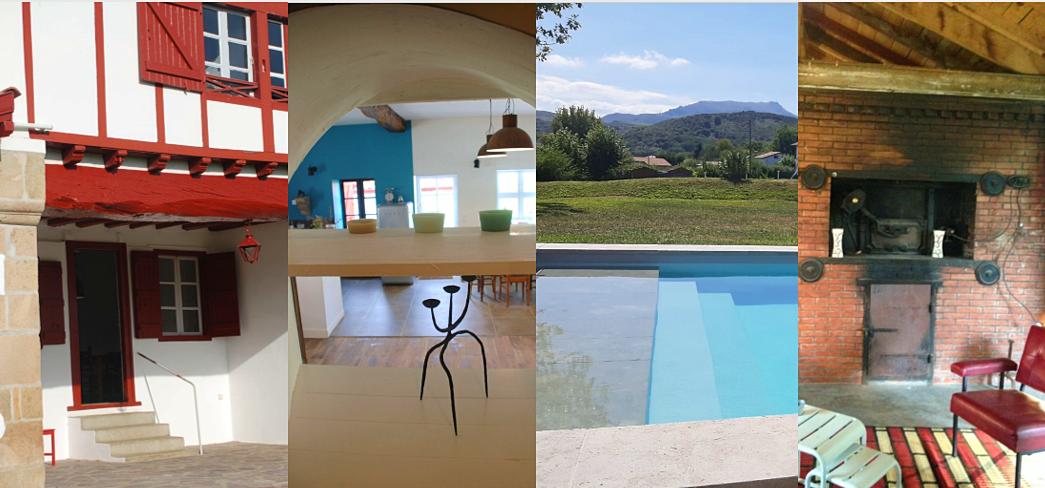 Loue maison 14personnes / piscine / Pays basque, proche Saint Jean de Luz