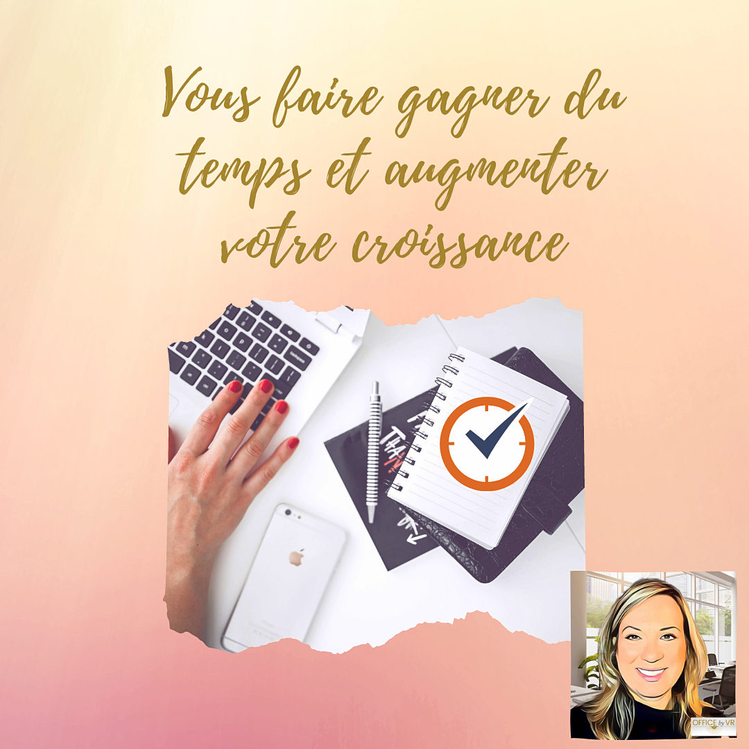 Propose services de Office manager en ligne - Gestion de Projets - Relation client - Digital
