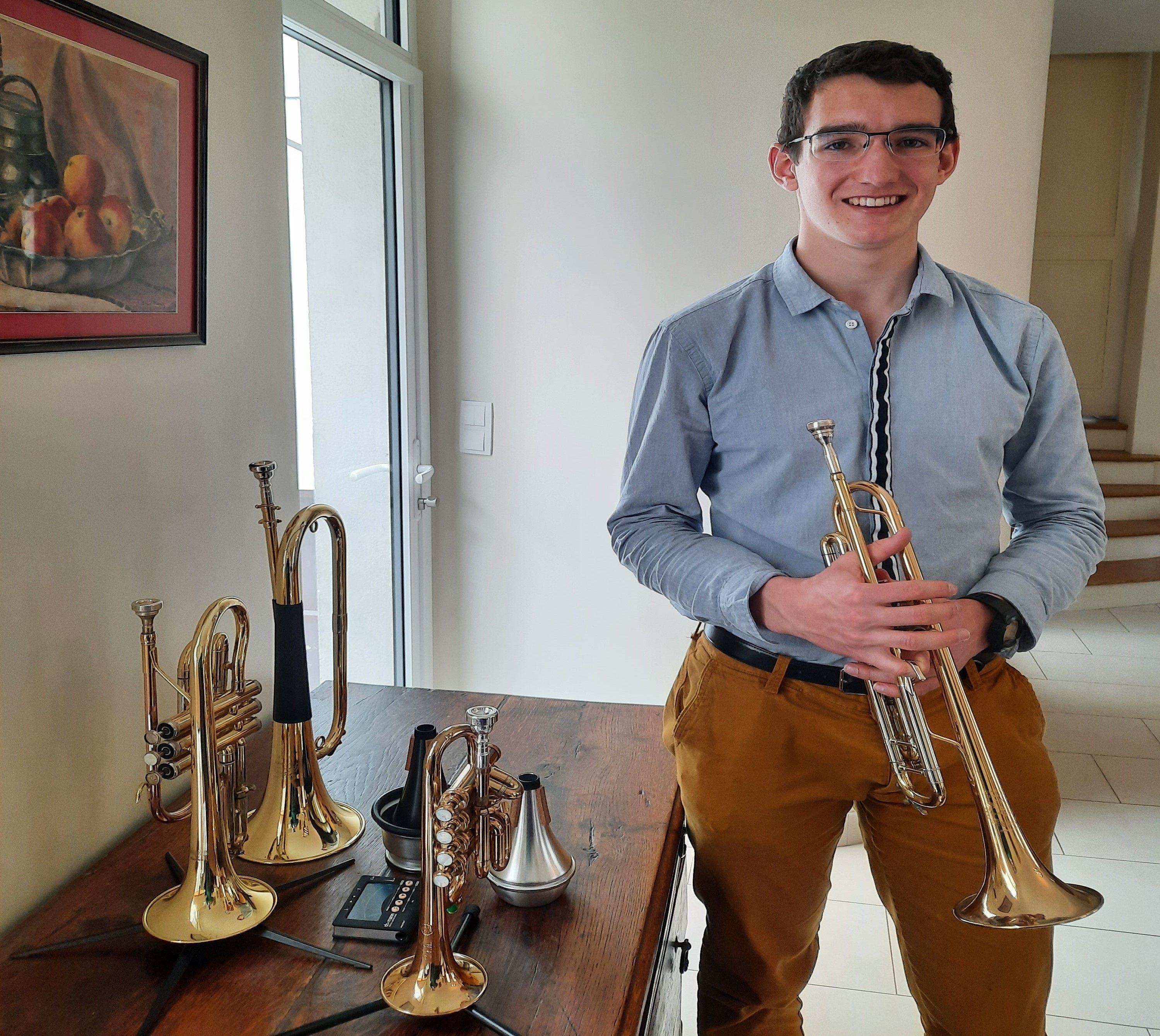 Propose cours de découverte/initiation de la trompette durant les vacances