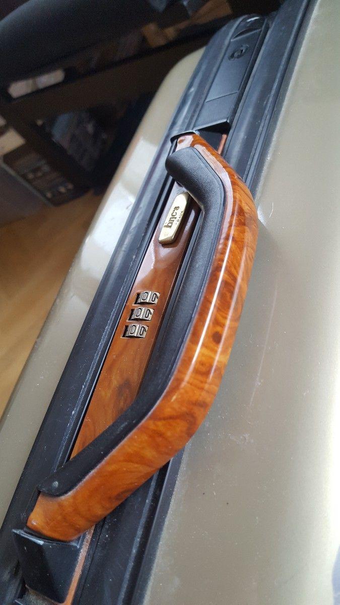 Petite valise coque 4roues