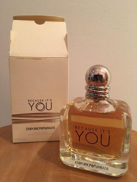"""Eau de parfum """"because it's you"""" Armani 100ml"""