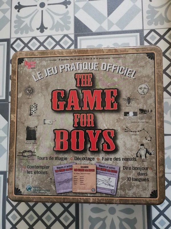 Boite de jeux: The game for boys