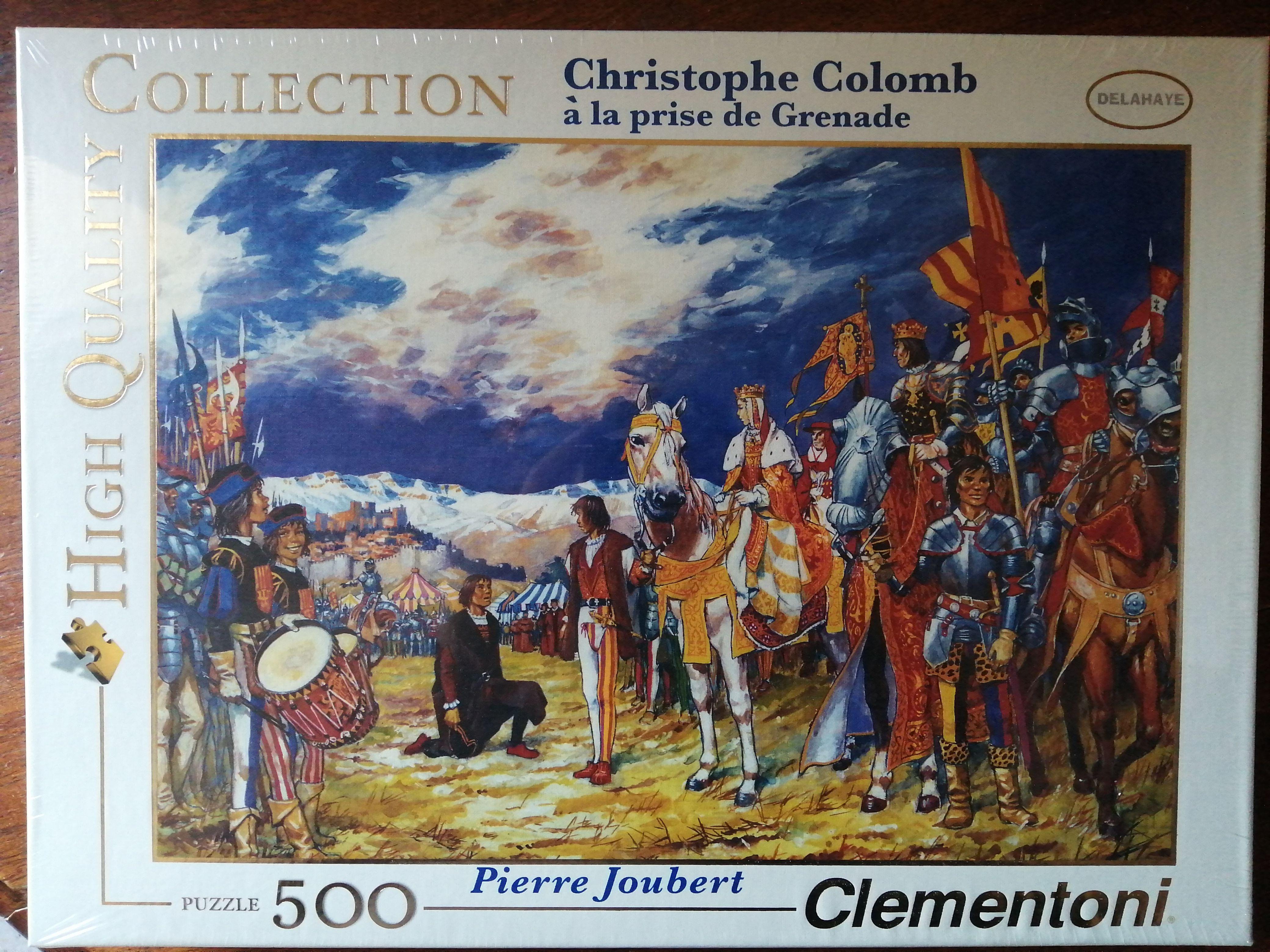 Puzzle 500pièces Christophe Colomb