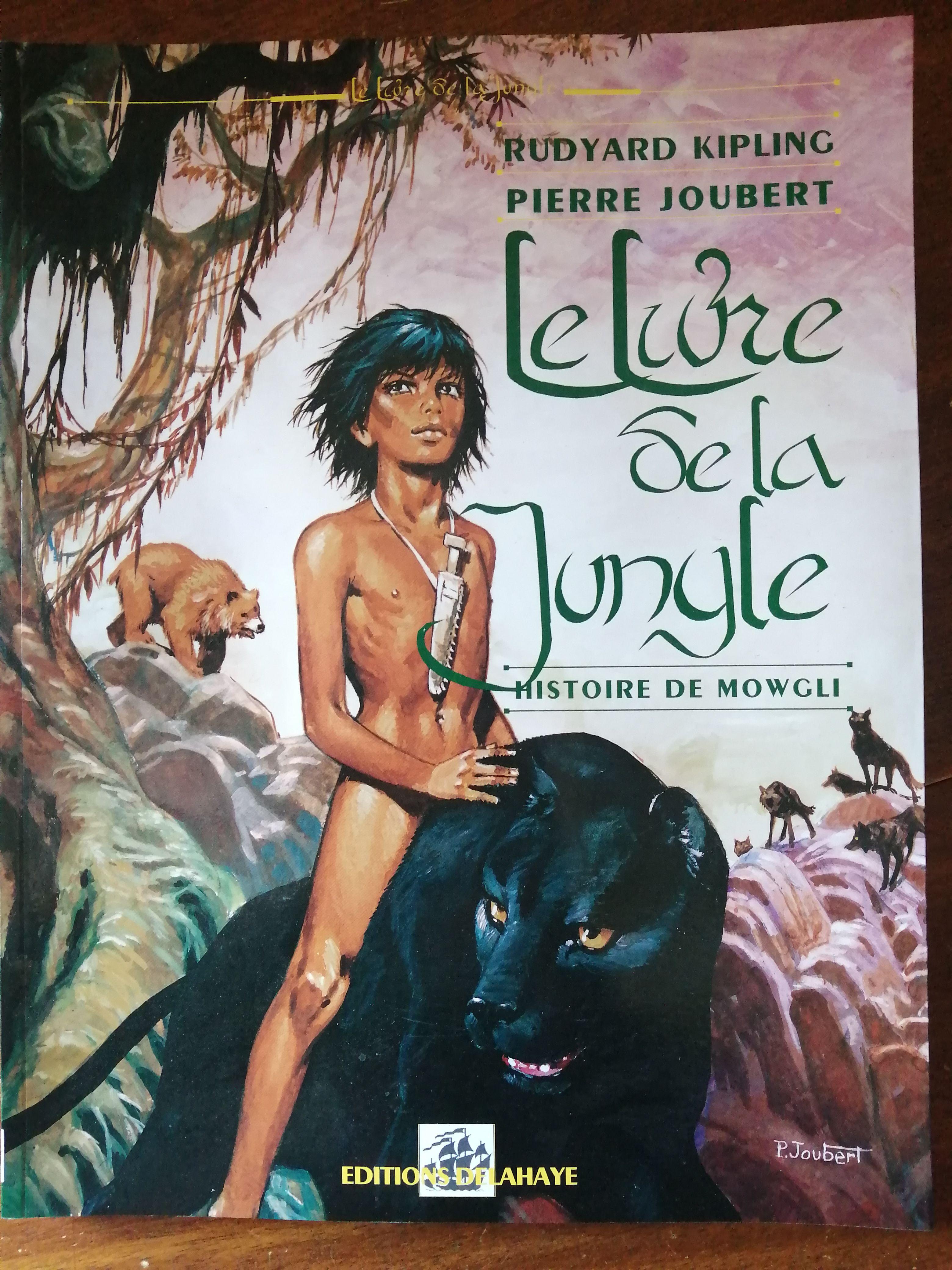 Le livre de la jungle illustré par Pierre Joubert