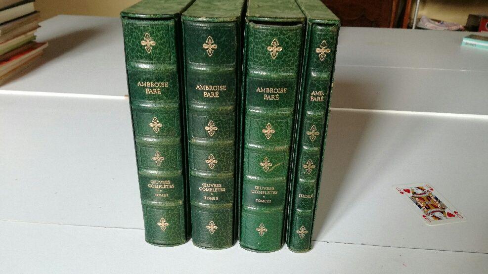 Vends collection livres Ambroise Paré