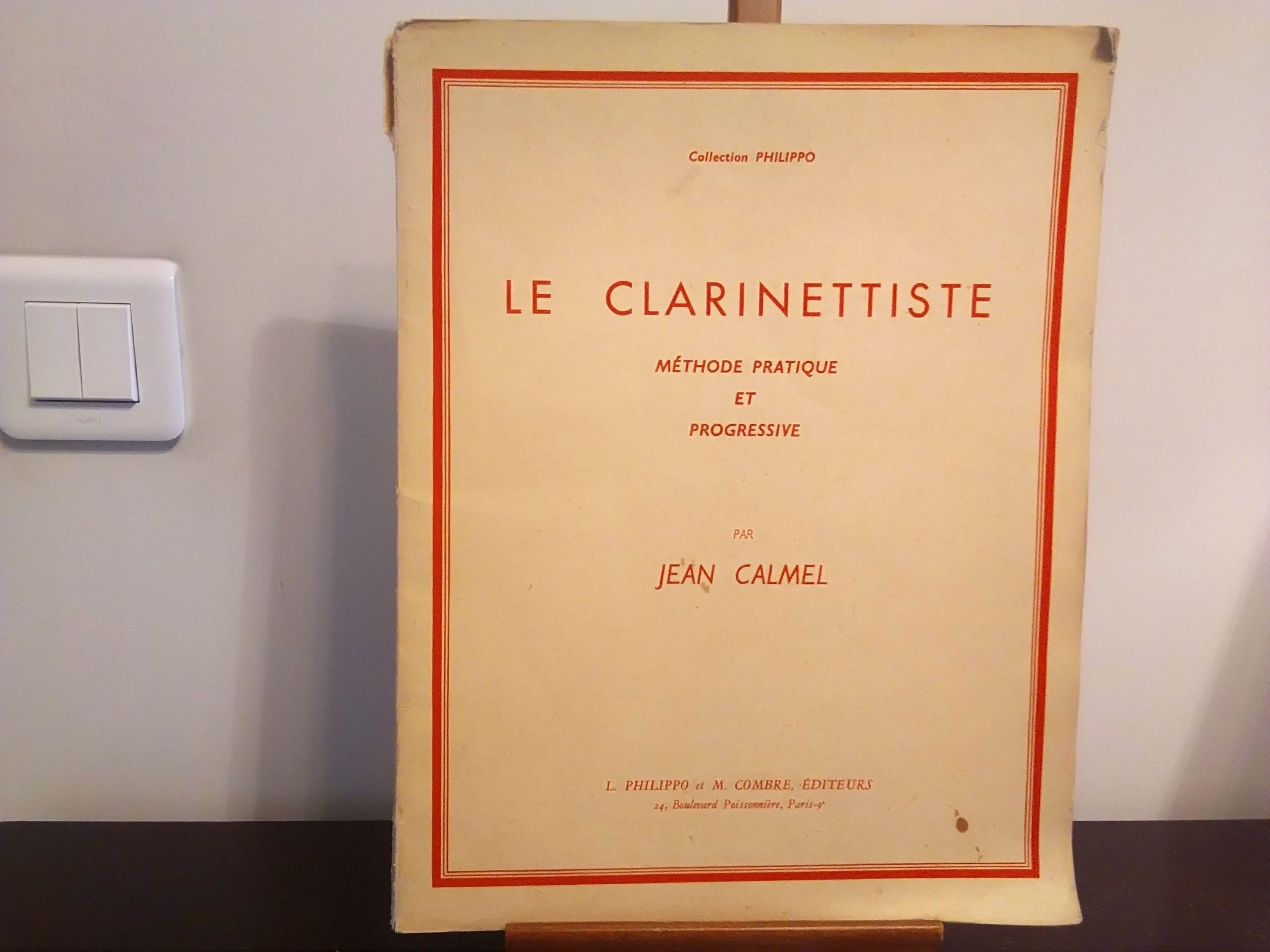 Vends Méthode Pratique de clarinette Courbevoie
