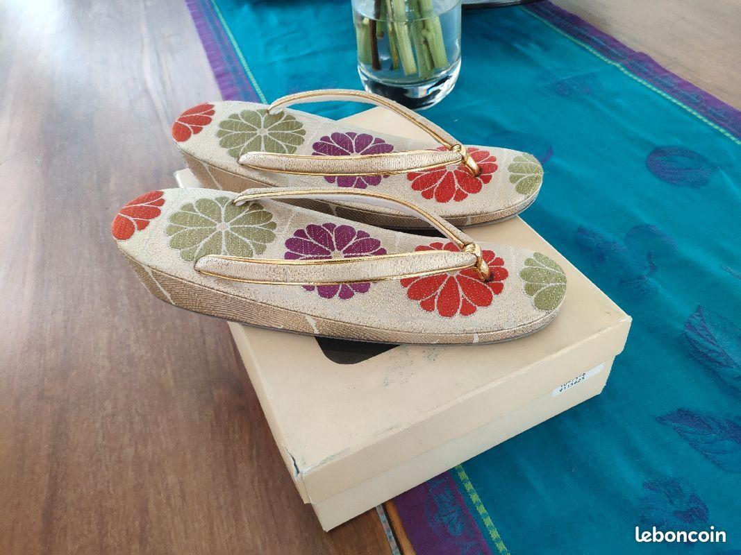 Sandales Geta Japonaises vintage