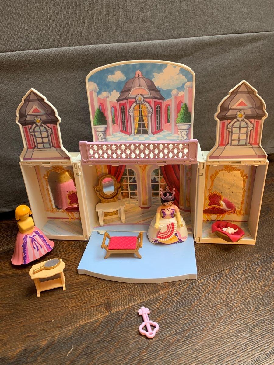 Vends Playmobil petit coffret princesse transportable