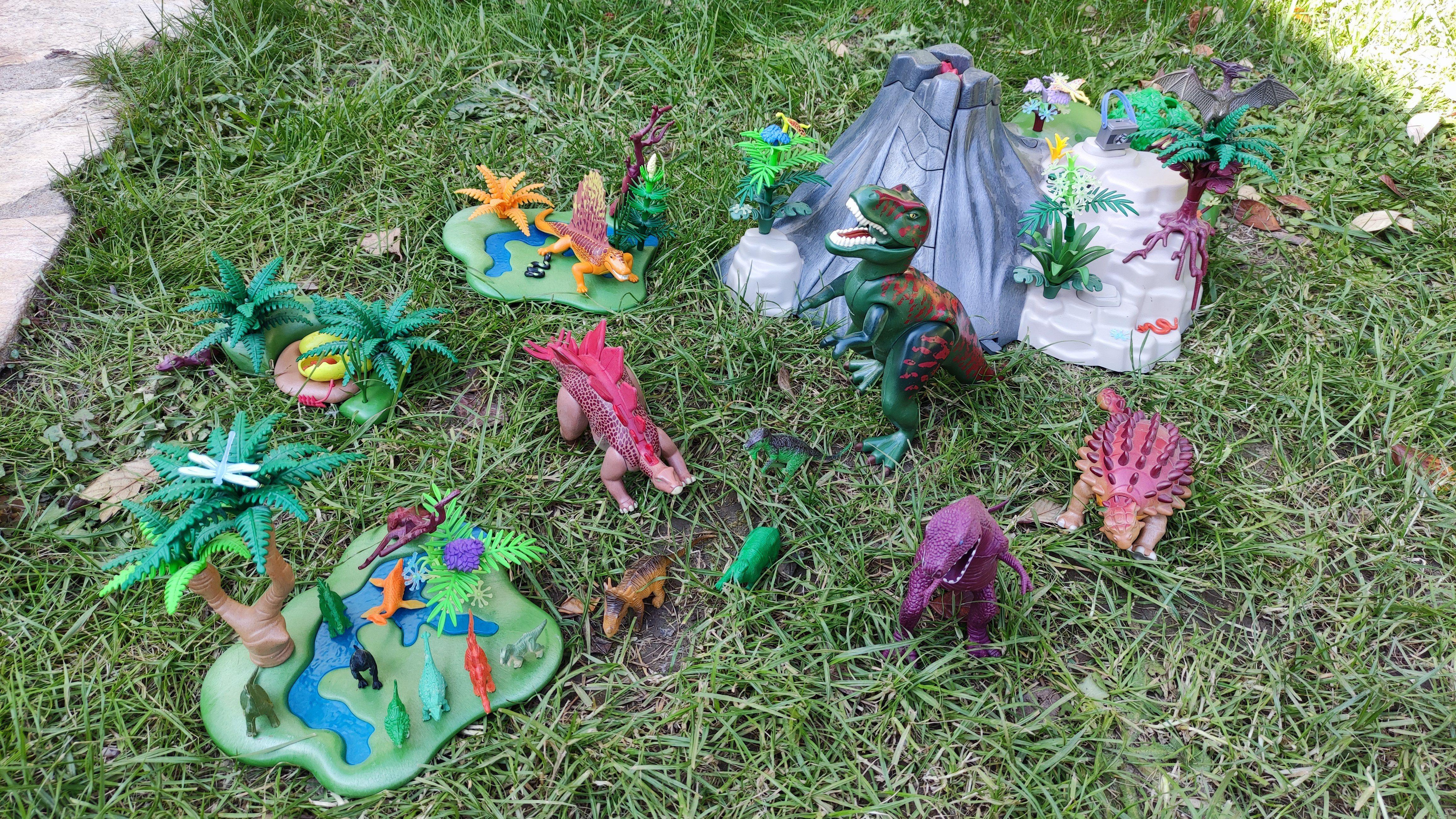 Vends lot Playmobil Dinosaures