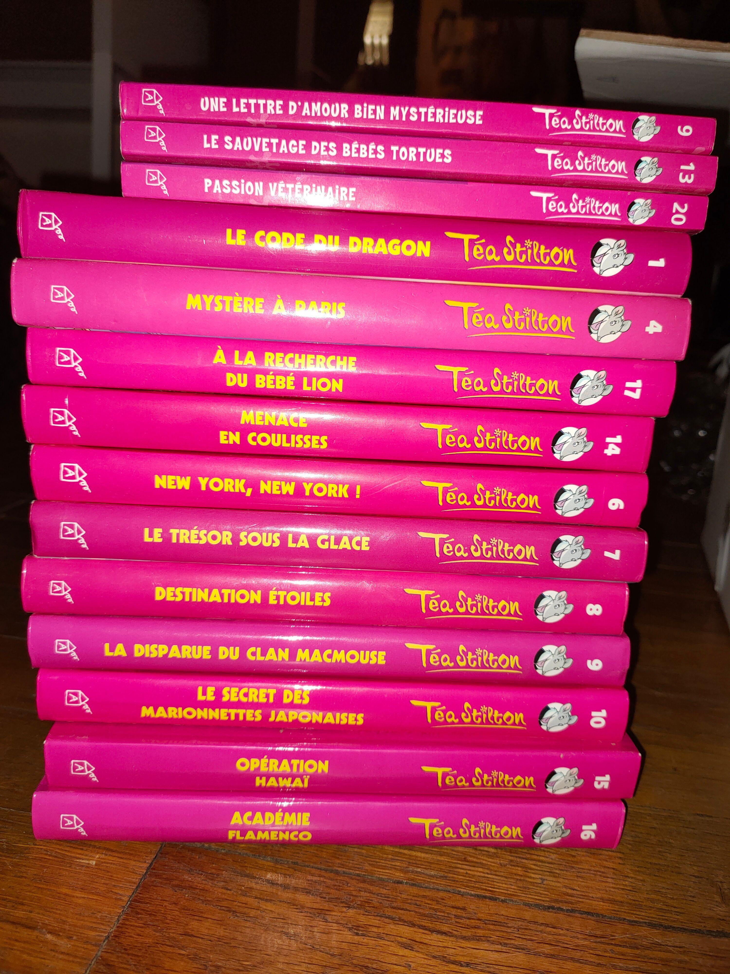 Multiples numéros de TEA STILTON