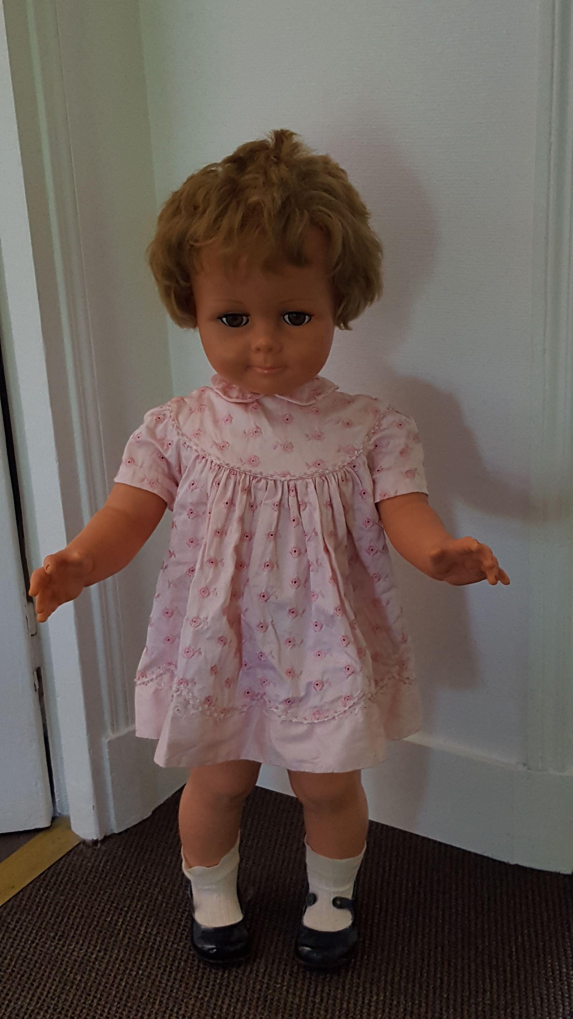 Vends grande poupée Raynal années 60