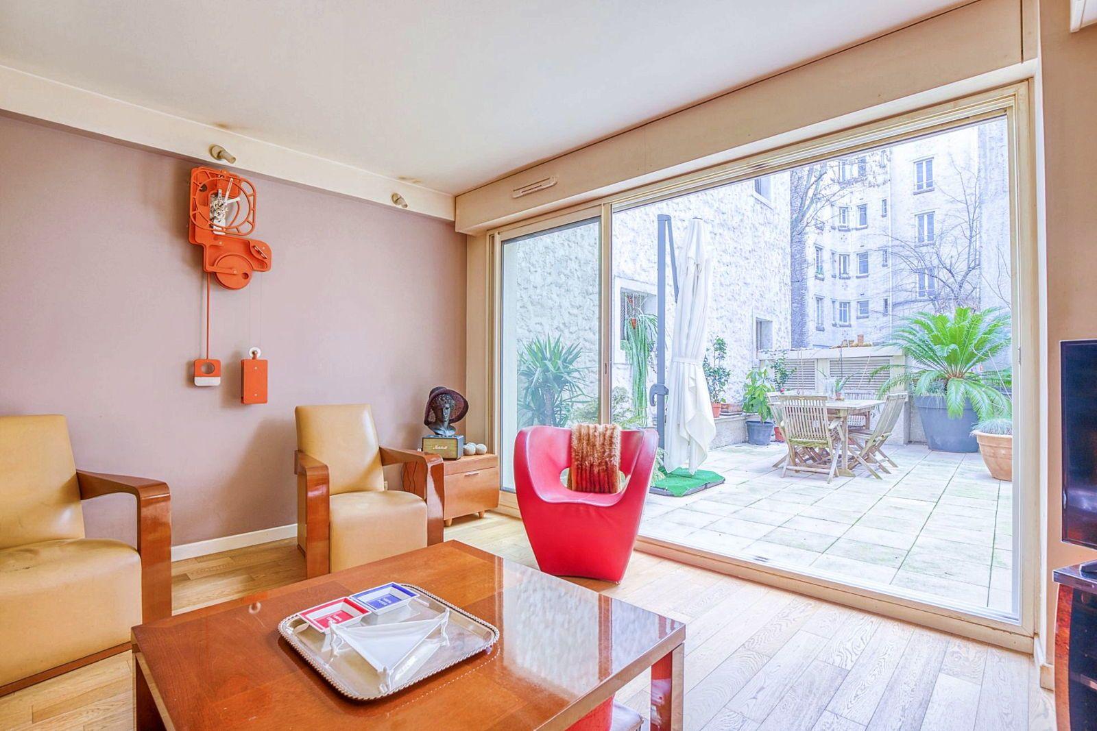 Vends appartementEglise d'Auteuil Paris 16ème - 6pièces / 4chambres 120m² + 43m² terrasse