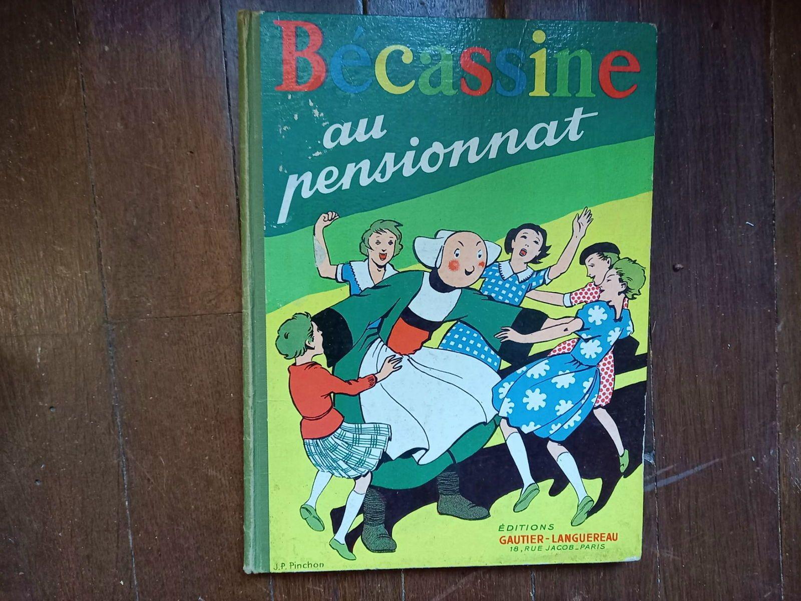 Albums anciens Becassine au Pensionnat 1950Bel état