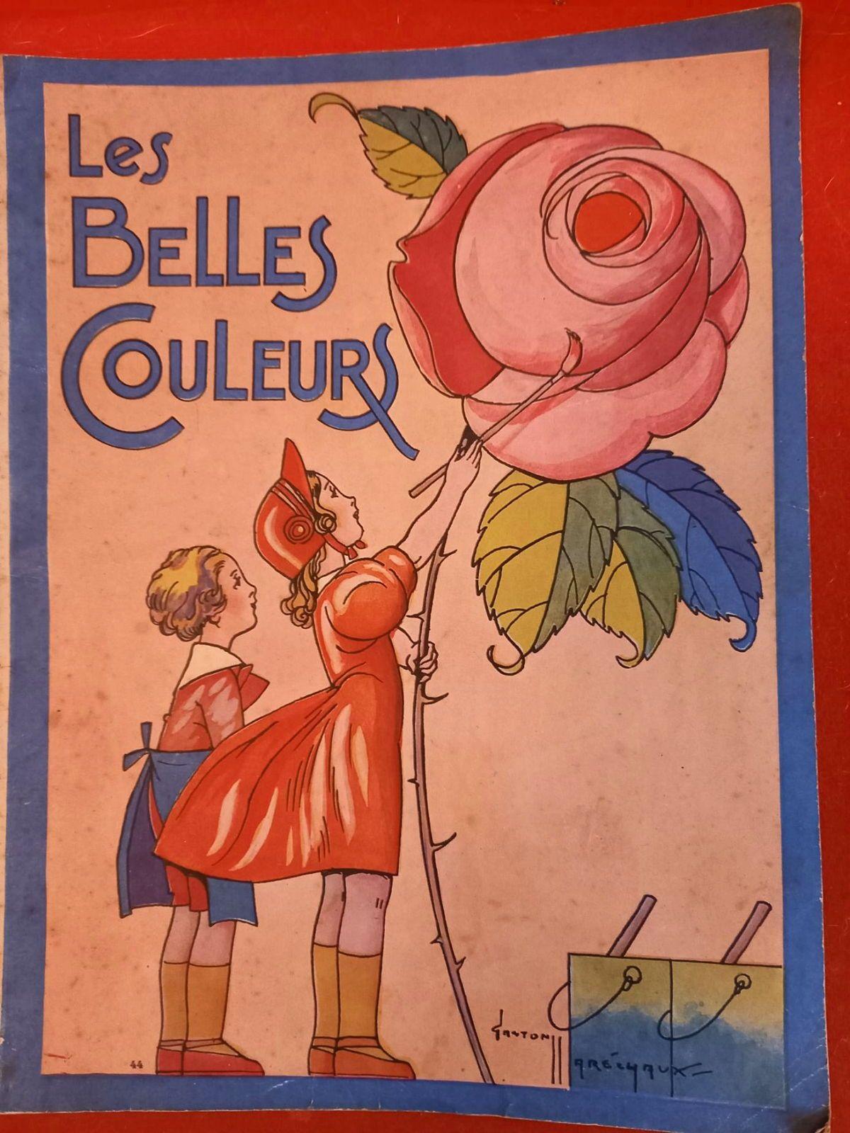 Ancien Album à colorier - Belles Couleurs - Ed. Chagor v 1940TBE