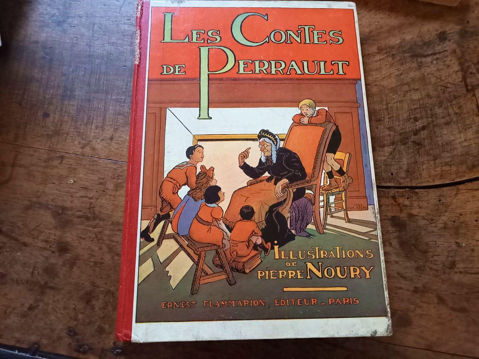 Ancien Livre Les Contes de Perrault Flammarion/Nourry 1932