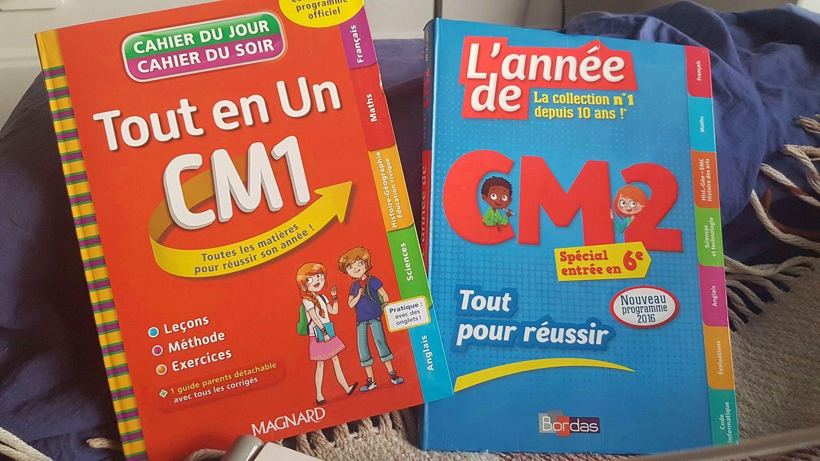 Années de CM1, CM2