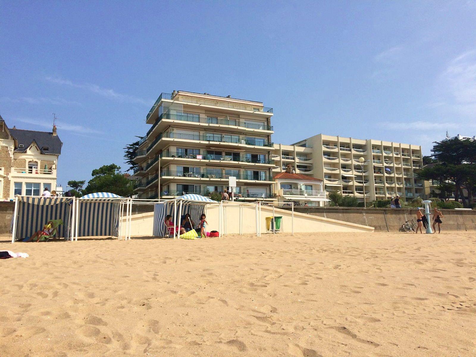Loue appartement type 3à La Baule avec vue mer panoramique (4-7pers)