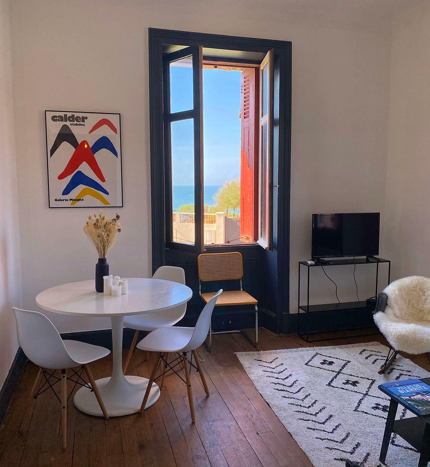 Loue appartement 4couchages vue mer · Biarritz La Côte des Basques