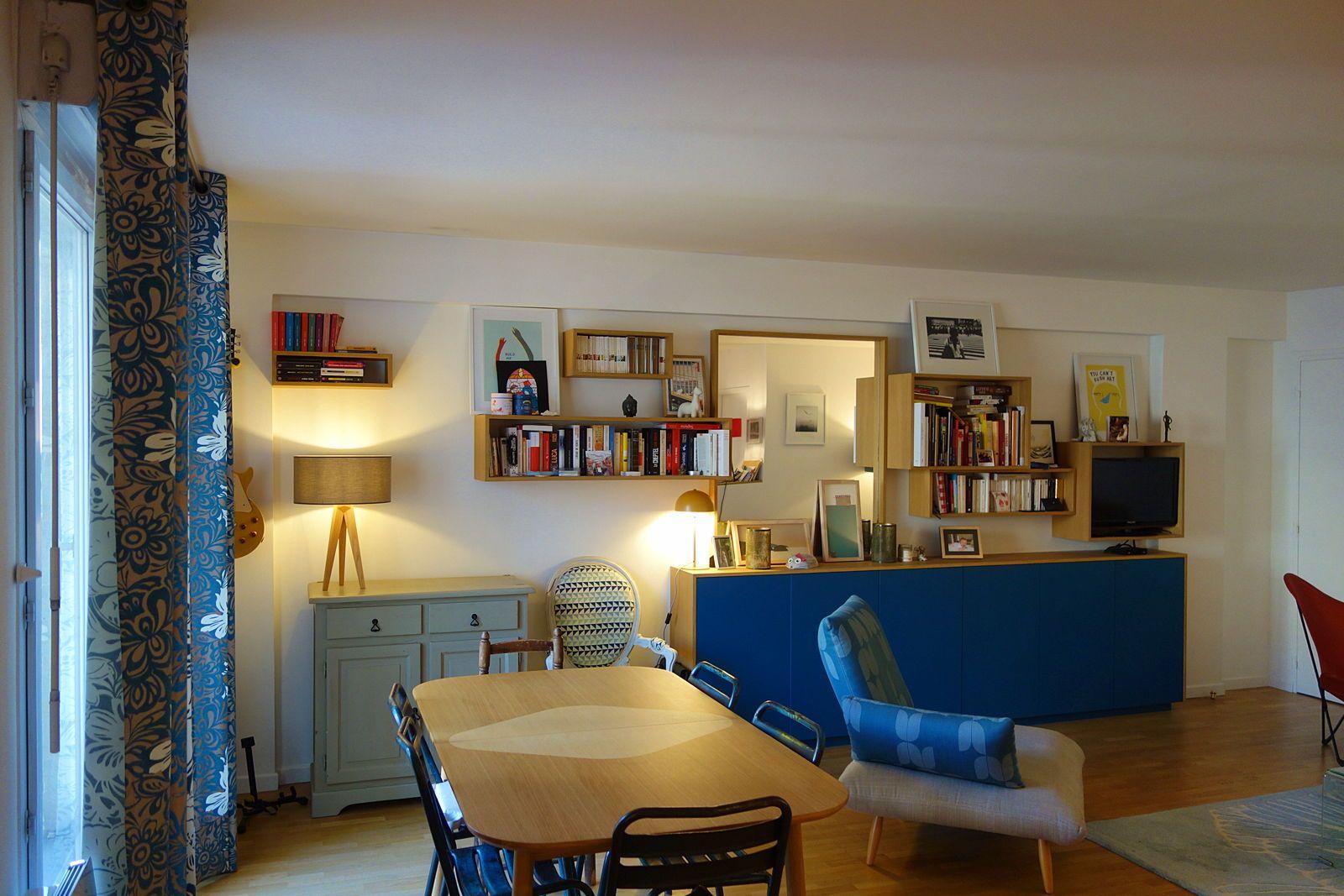 Loue appartement familial T54chambres 100m² à Levallois-Perret