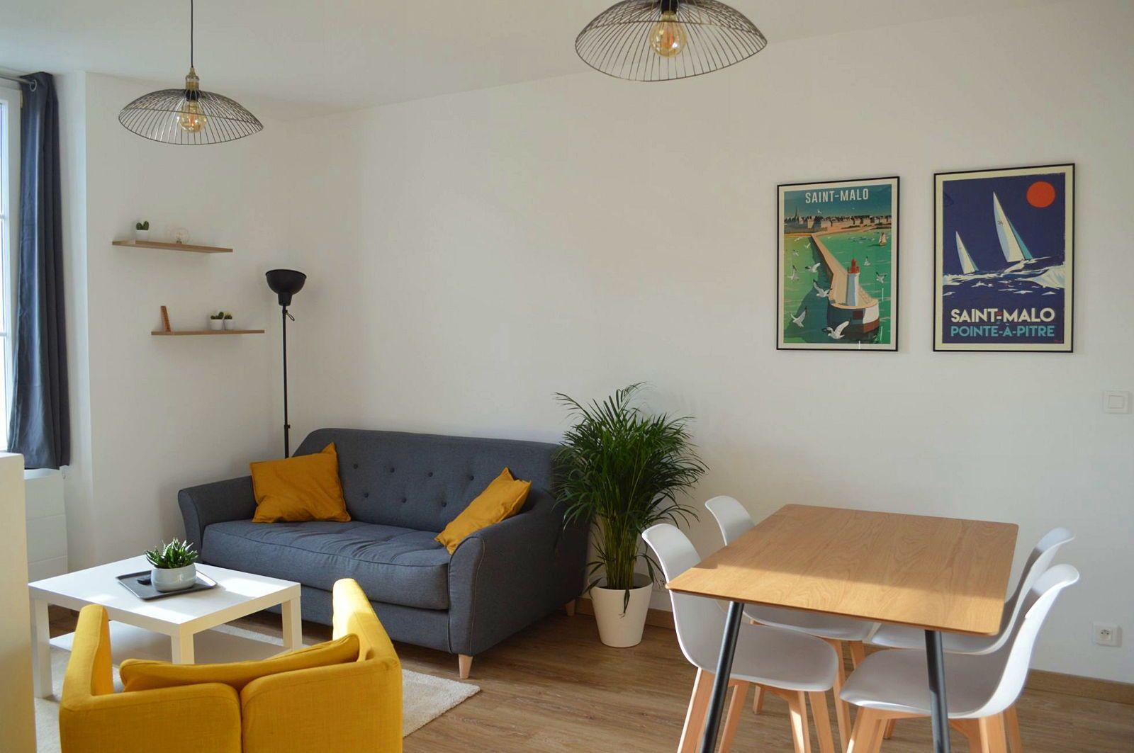 Loue appartement à Saint-Malo/Saint-Servan 4couchages